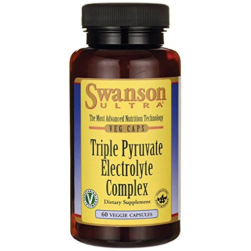 Swanson Triple Pyruvate Electrolyte Complex 60 Veg Capsules