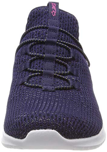 Azul Para Ultra Flex Mujer Zapatillas Mint more Tranquility navy Skechers Nvmt Opdq00