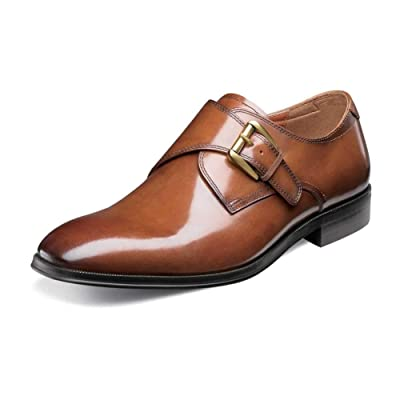 Florsheim Men's Belfast Plain Toe Monk Strap | Loafers & Slip-Ons