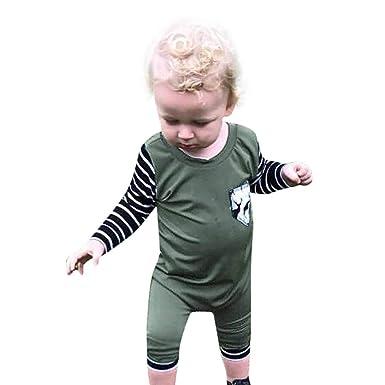 483d898c0 Amazon.com  Scaling♥Baby Romper Jumpsuit♥Newborn Infant Baby Boy ...