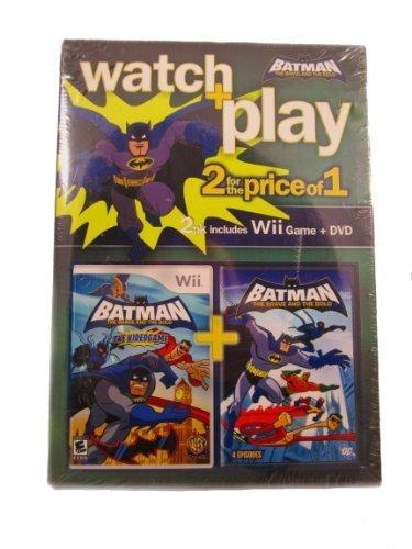 Wii-Batman: The Brave and the Bold with Bonus Batman Cartoon Movie