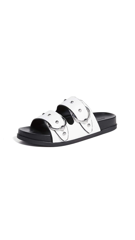 e71f12a3381a Amazon.com  Rebecca Minkoff Women s Vachel Double Strap Slides  Shoes