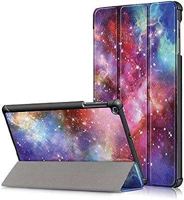 e8b8fabcd9b Xuanbeier Funda Carcasa Compatible con Samsung Galaxy Tab A 10.1 Pulgadas SM  - T510 T515 2019 Versión Ultra Delgada con Función de Soporte, Galaxy