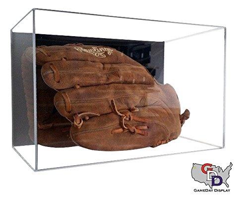 Acrylic Wall Mount Baseball Glove Display Case by GameDay Display