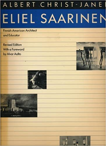 Book Eliel Saarinen: Finnish-American Architect and Educator by Albert Christ-Janer (1984-10-03)
