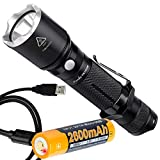Fenix TK15UE (TK15) Ultimate Edition 1000 Lumen Tactical LED Flashlight Plus Fenix Rechargeable Battery with Built-in Micro-USB Charge Port and LumenTac USB Cable Review