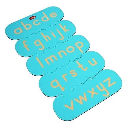 Buy Skola Toys - Alphabet Tracing Stencils English Lower