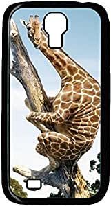 Fashion Designed Pattern Protevtive Hard Back Case Cover for Samsung Galaxy S4 I9500 Funny Giraffe S4 110
