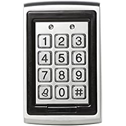 UHPPOTE EM-ID Metal Case RFID Access Control Unit Keypad With Back Light Support 500 User