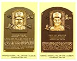 2005 Cooperstown Hall of Fame Plaque Postcards MILWAUKEE BREWERS