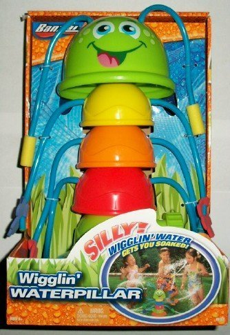 Wigglin' Waterpillar with 8 Water Spraying Wigglers