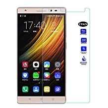 """XMT Lenovo Phab 2,Lenovo Phab 2 Pro,Lenovo Phab 2 Plus 6.4"""" Screen Protector,0.3mm 9H Hardness Tempered Glass Clear Screen Protector for Lenovo Phab 2,Lenovo Phab 2 Pro,Lenovo Phab 2 Plus Smartphone (2 Pack)"""