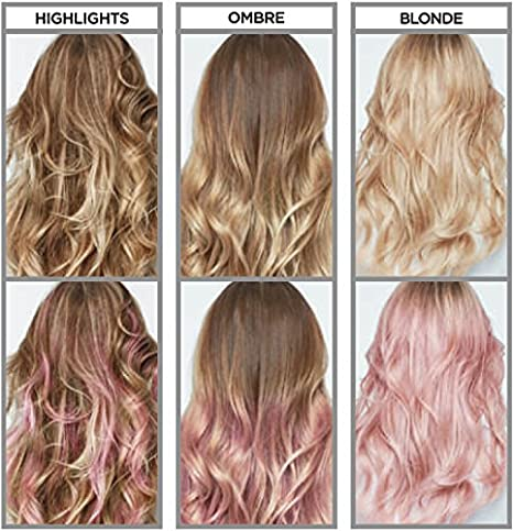 Loreal Colorista Washout Temporary Hair Dye Pink 2 3 Washes