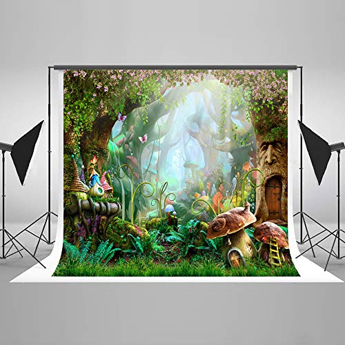 Kate 10x6.5ft Fairy Tale Backdrop Forest Photo Background for Children Birthday Party Photography Backdrops (Photo Fairy Tale)