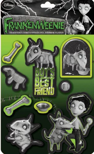 EK Success Brands Disney Frankenweenie Boy's Best Friend Sticker Medley