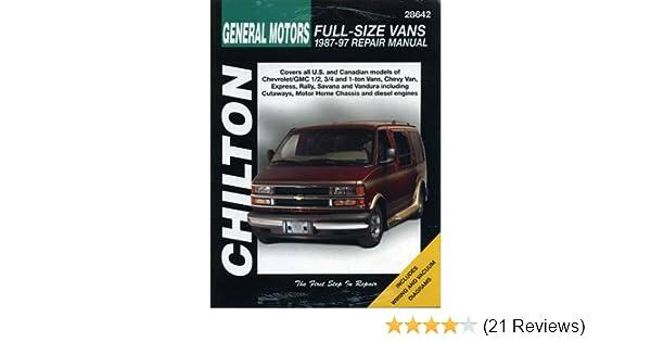 Service & Repair Manuals Repair Manual-Base Chilton 28642 Vehicle ...