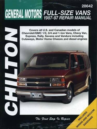 c6d2ac8396 Amazon.com  Chilton GM Full Size Vans 1987-1997 Repair Manual (28642)   Chilton  Automotive