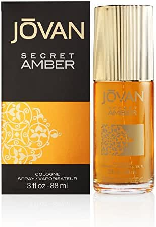 Jovan Secret Amber by Coty for Women 3.0 oz Cologne Spray
