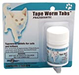 Tradewinds Tape Worm Tabs 3 Tablets (Cats) Medications – Non Prescription, My Pet Supplies