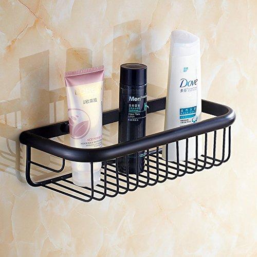 Beelee Wall Mounted 11.81 Inch Bathroom Shower Caddy Bath ...