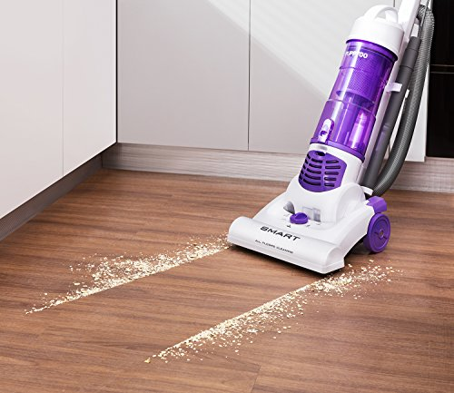 PUPPYOO Upright Vacuum Cleaner Bagless Corded L...