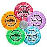 Dynamic Discs Five Disc Prime Burst Disc Golf Starter Set - Driver, Midrange, Putter