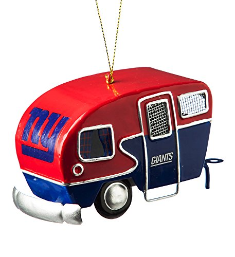 Team Sports America Metal New York Giants Camper Ornament