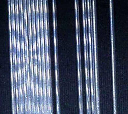 (uGems 28 Gauge .999 Fine Silver Round Wire Thin 0.013