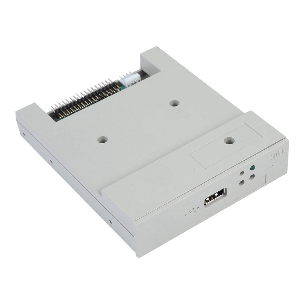 fosa USB Floppy Emulator, SFR1M44-U 3.5In 1.44MB USB SSD Floppy Drive Emulator Updated Version USB Flash Plug and Play with CD Screws for Floppy Disk Drive Industrial Control Equipment by fosa (Image #9)