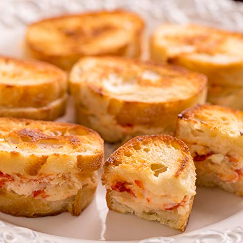 Lobster Grilled Cheese Appetizers, 36 count made in New England