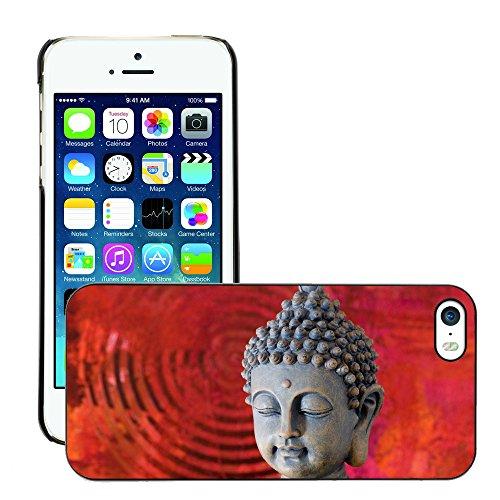 Premio Sottile Slim Cassa Custodia Case Cover Shell // V00001642 Bouddha // Apple iPhone 5 5S 5G