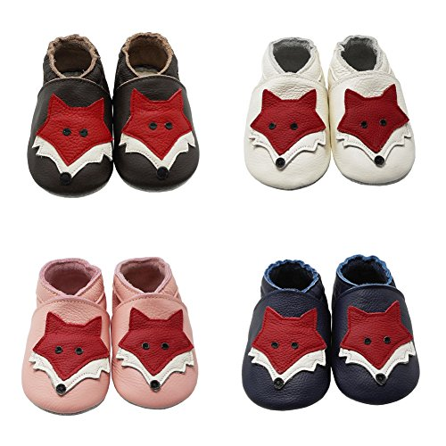 Pictures of YIHAKIDS Soft Sole Baby Shoes Toddler Leather 7