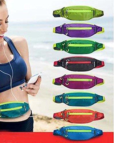Hochwertige elegante modische Sport-Taille Pack Outdoor Rucksack Tasche, lila