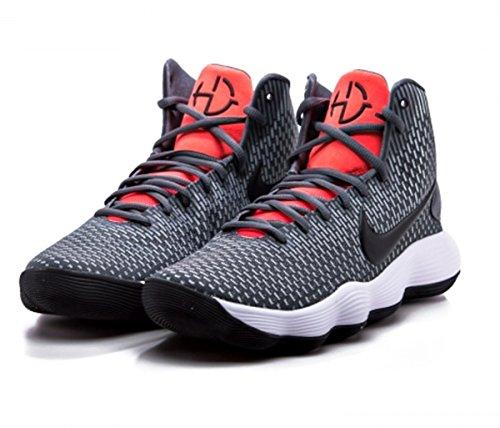 3f9544864f47 Galleon - NIKE Hyperdunk 2017 Kay YOW Basketball Shoes Mens Dark  Grey Black-Bright Crimson New 897631-004 - 7.5