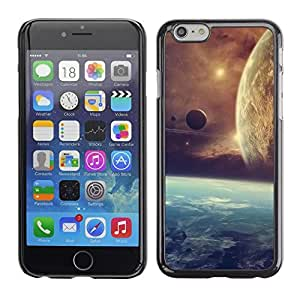 LECELL -- Funda protectora / Cubierta / Piel For Apple iPhone 6 -- Space Planet Galaxy Stars 21 --