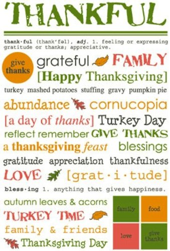 SRM Stickers Express Yourself Thanksgiving ()