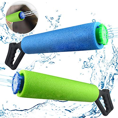 Growsland Foam Water Gun, Kids Toys Water Shooter Games Outdoor Toys for Boys Girls Adults Powerful Water Pistol…