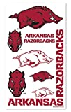 WinCraft NCAA University of Arkansas Razorbacks Temporary Tattoos Package