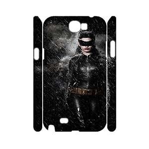 Batman FG0083094 3D Art Print Design Phone Back Case Customized Hard Shell Protection Samsung Galaxy Note 2 N7100