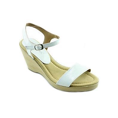Sandale Compensée - Vidya V-blanc EY5Xq