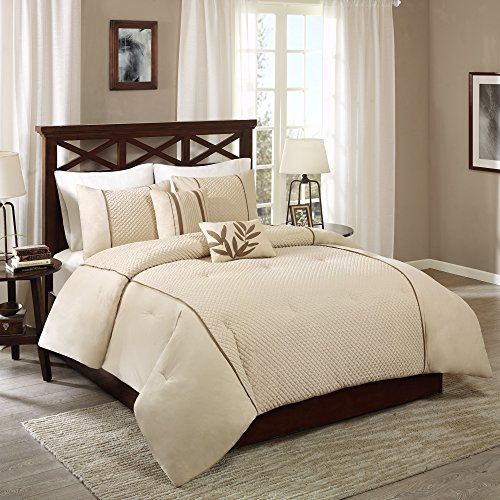Wholesale Katherine 5 Piece Comforter Set Taupe Full/Queen for sale