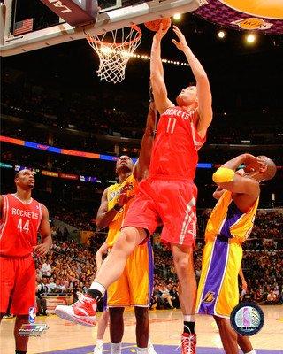 - NBA Yao Ming Houston Rockets Action Photo (Size: 8