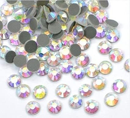 Image Unavailable. Image not available for. Color  HotFix Rhinestones AB  Crystals ... 5cfc2892348c