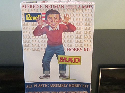 #3639 Revell Mad Magazine Alfred E. Neuman 1/8 Scale Plastic Model Kit,Needs Assembly ()