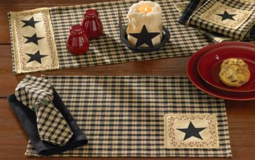 Star Patch Placemat- Set of 4
