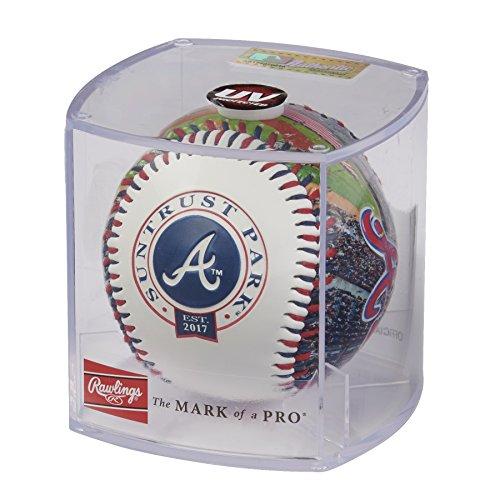 Rawlings MLB Atlanta Braves 05860005111MLB Stadium Baseball (All Team Options), Red, One Size