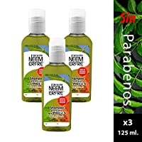 Paquete de 3 - Shampoo Repelente de Piojos de Neem
