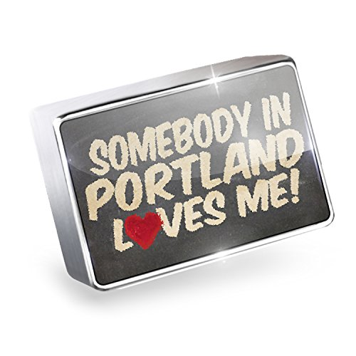 Floating Charm Somebody in Portland Loves me, Maine Fits Glass Lockets, - Portland Glasses Maine