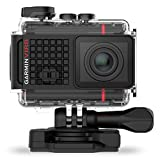 Garmin VIRB Ultra 30 HD 4K Action Camera with Voice Control and Data Overlays, Black