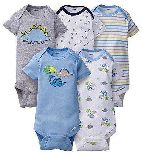 gerber-baby-5-pack-onesies-3-6-months-dino